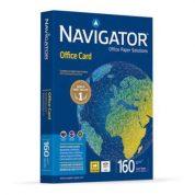 Navigator pappír er hágæða pappír fyrir laser og bleksprautu prentara. Þéttur, húðaður og góður fyrir litaprentun. 160g.