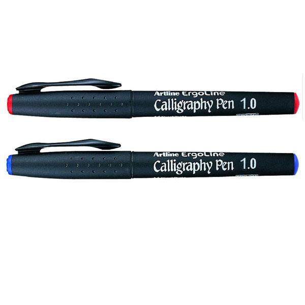 Skrautskriftarpennar með 1,0 mm oddi.