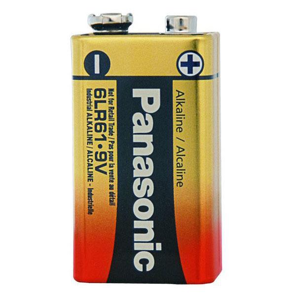 Rafhlaða / batterí 9V Panasonic