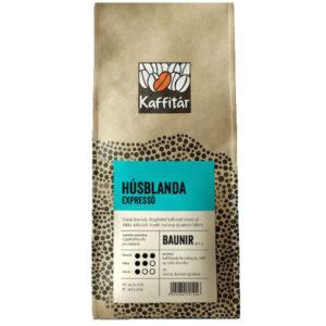 Frönsk brennsla. Bragðmikið kaffi með tónum af dökku súkkulaði, kryddi, hunangi og sætum lakkrís. Baunir eða malað. 1 kg.