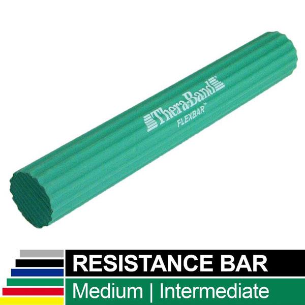 Flex-Bar grænn 7,0 kg, 44 mm í þvermál. Meðal viðnám.