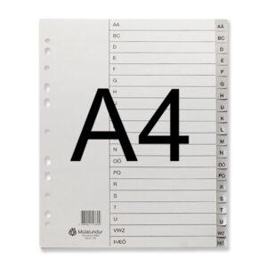 Milliblöð A4